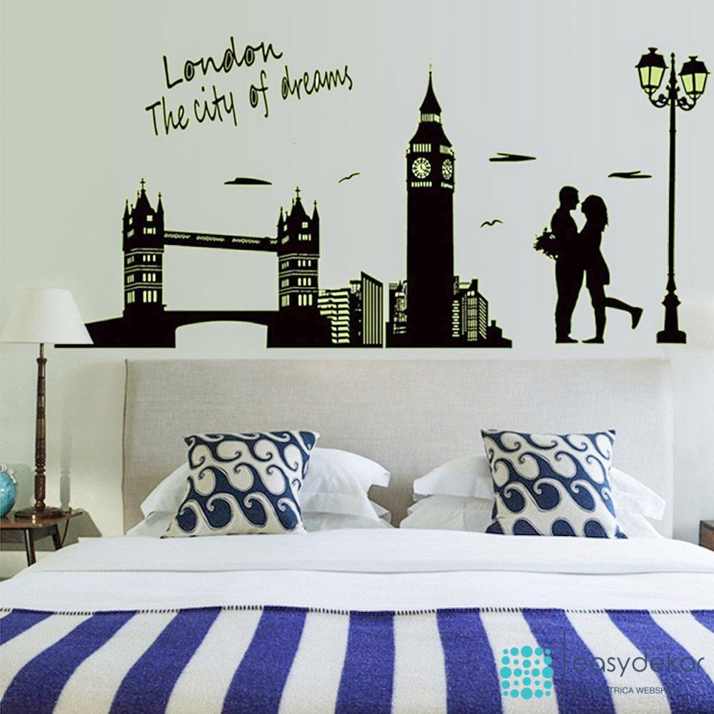 Egy kis romantika Londonban - falmatrica  Easydekor, a falmatrica webshop
