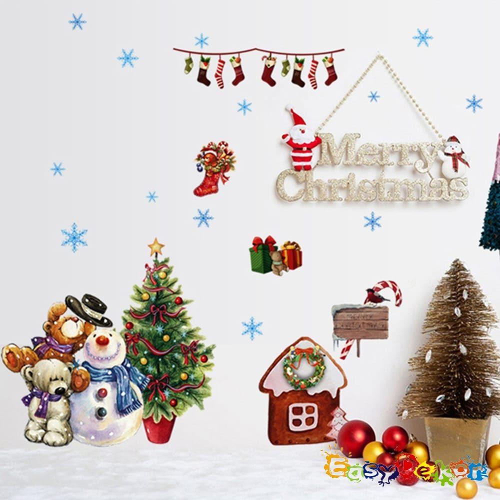 Mikulás, Karácsony falmatrica