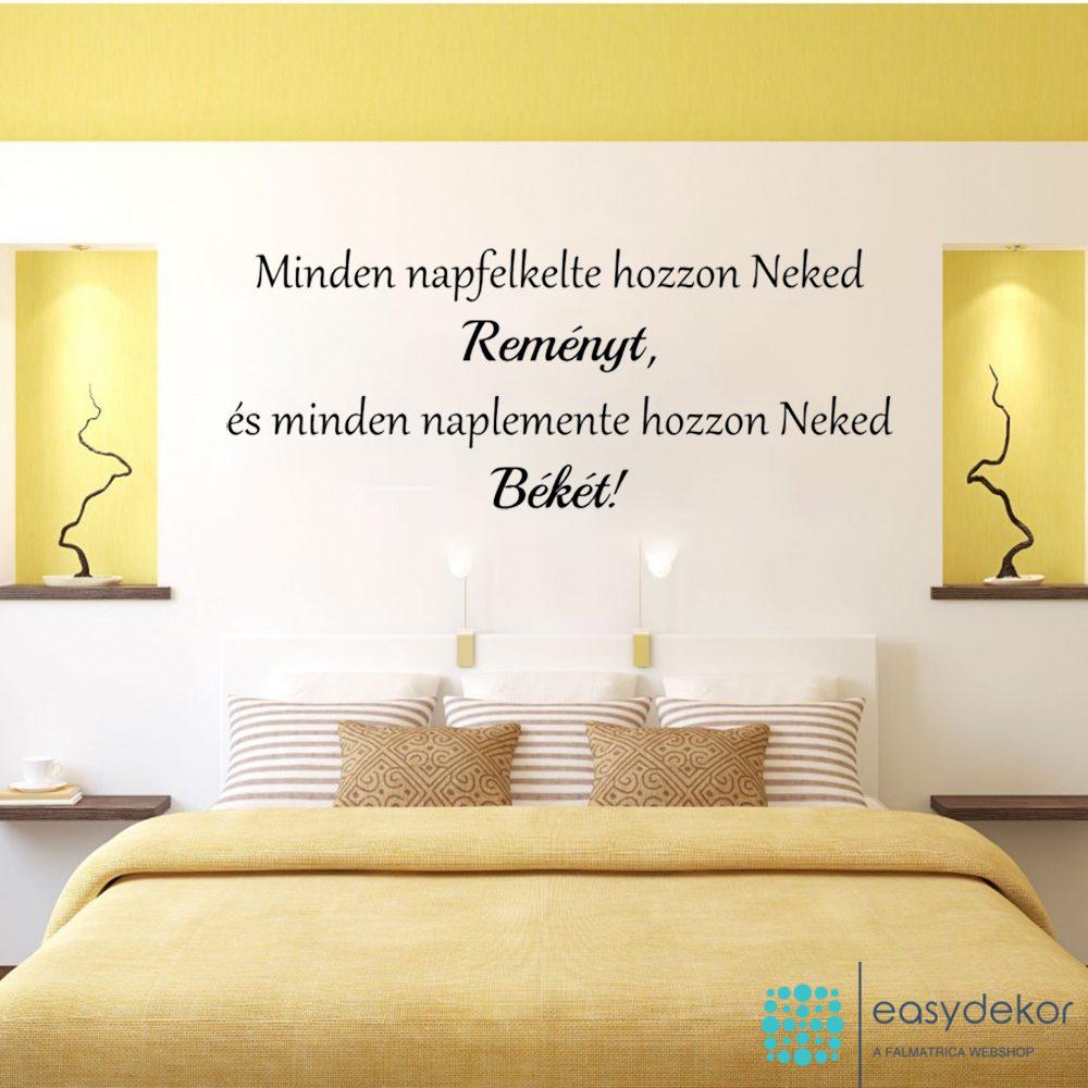 beke-remeny-idezet-joga-dekoracio-falmatrica